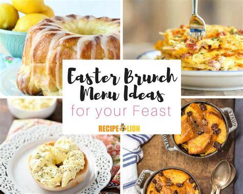 easter lunch buffet menu ideas 19 easter brunch menu ideas recipelion