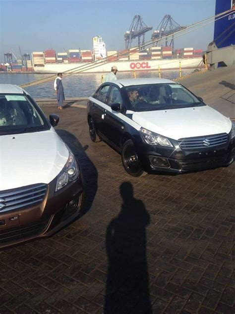 Karachi Port Cars 200 units of suzuki ciaz reached karachi port carspiritpk