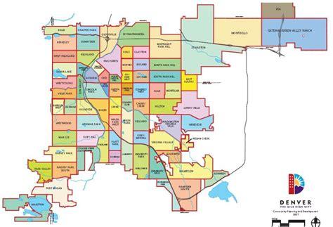map of denver area county map denver swimnova
