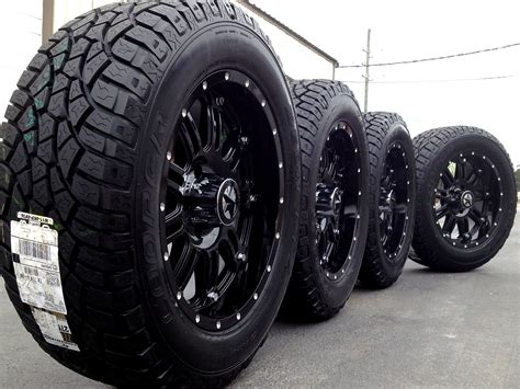 tire and wheel packages black truck rims and tires wheels and rims for