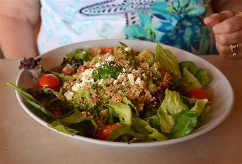 Zoes Kitchen Birkdale by Correct Salad With Quinoa Picture Of Zoes Kitchen