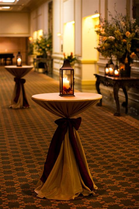 Decorating Cocktail Tables by Event Decorating On A Budget