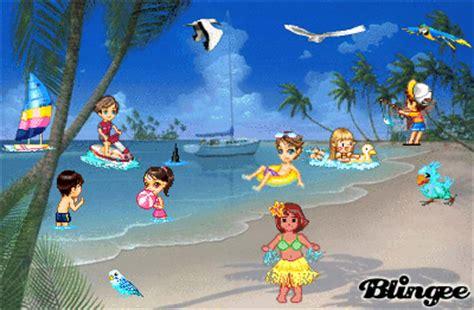 imagenes de niños jugando en la playa ni 241 os jugando playa fotograf 237 a 84072400 blingee com