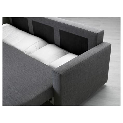ikea three seater sofa bed friheten three seat sofa bed skiftebo dark grey ikea