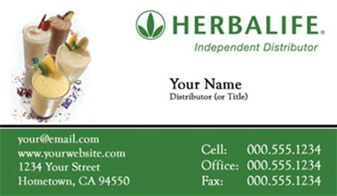 herbalife business cards free templates order herbalife business cards free shipping and design