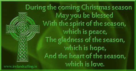irish christmas blessing image copyright ireland calling holidays pinterest christmas