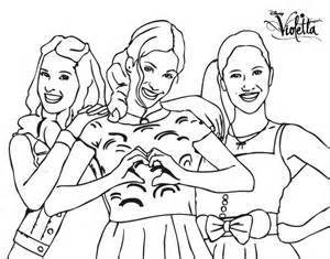 Violetta Coloring Coloring Pages
