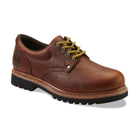 work shoes elk woods s brown oxford work shoe clothing shoes