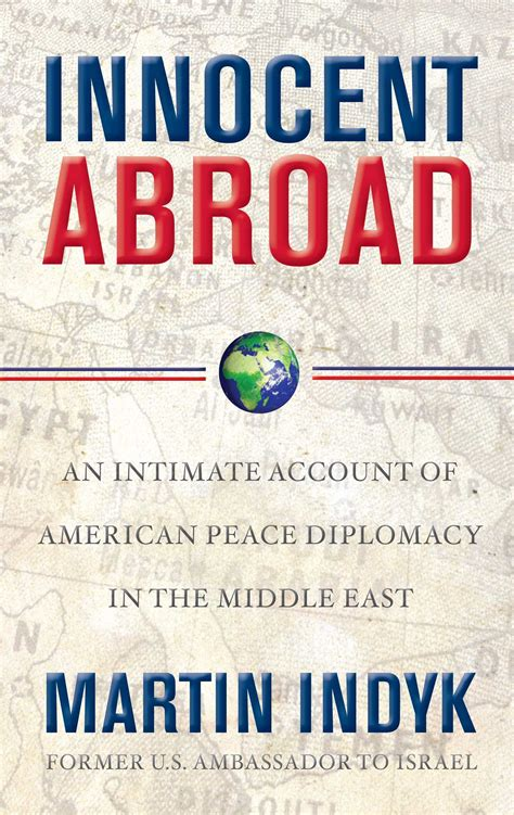 innocent abroad book by martin indyk official