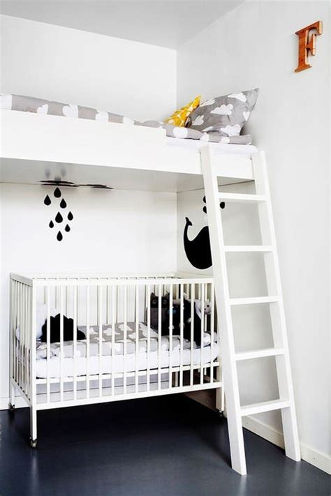 Crib Loft Bed by A Boy S Room In Handmade
