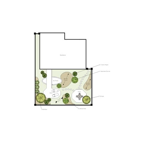 Landscape Design Software Smartdraw Smartdraw Garden Design Software Deck Plan 2 Garden