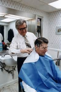 President reagan gets a haircut in 1981 getty images