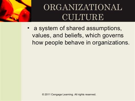 what pattern of organization describes a shift in time open study organizational culture presentation