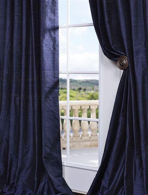 navy blue silk curtains 17 best ideas about silk curtains on pinterest pink