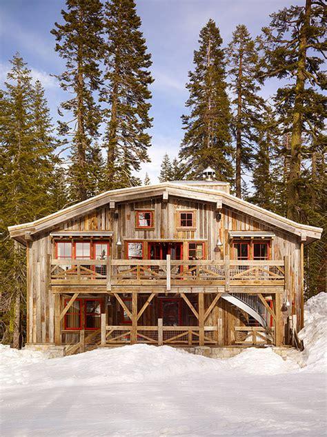 Ski Cabin Design ski cabin with rustic interiors home bunch interior