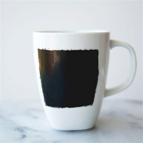 diy chalkboard coffee mug chalkboard coffee mugs martha stewart weddings