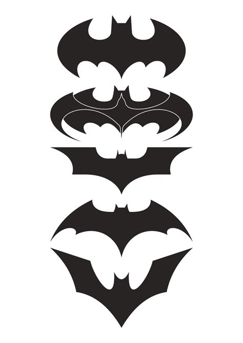 cool batman logo designs www imgkid com the image kid