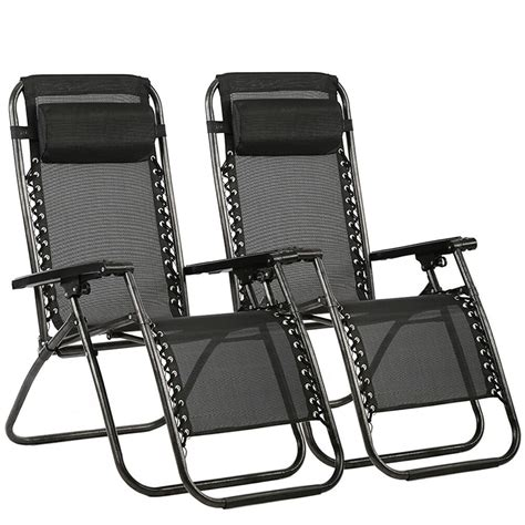 gravity chairs case   lounge patio chairs outdoor yard beach  ebay