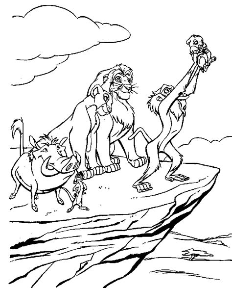 lion king coloring pages free online lion king coloring pages