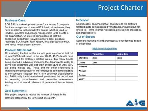 Six Sigma Project Report For Mba by Research Report Sle Pdf Best Free Home Design