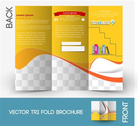 Illustrator Brochure Templates Free by Brochure Design Templates Free Illustrator