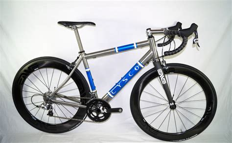 comfortable street bike found custom stiff yet comfortable titanium road bike