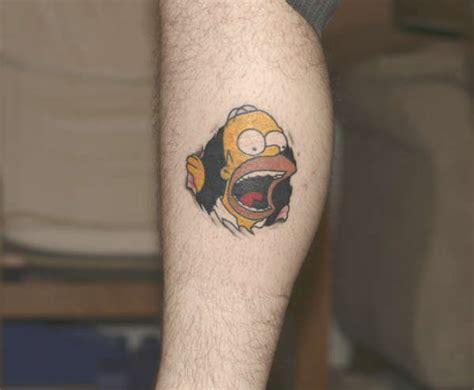 homer simpson tattoos my homer