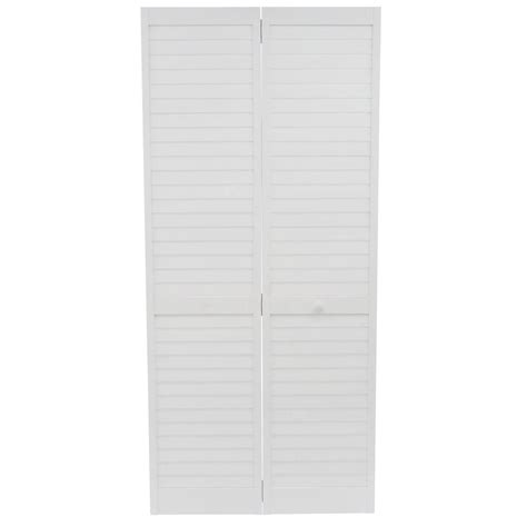 Kimberly Bay 36 In X 80 In 36 In Plantation Louvered Plantation Bifold Closet Doors