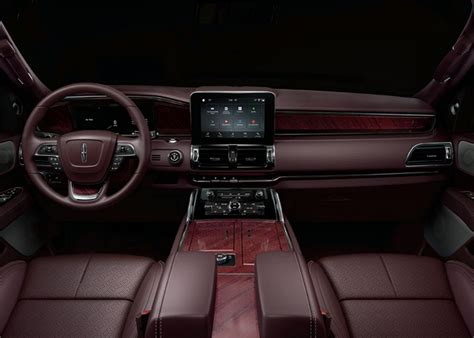 lincoln interior 2018 lincoln navigator black label shown ford authority
