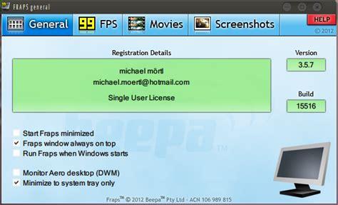 download fraps full version rar download fraps 3 5 9 full crack phần mềm quay video game