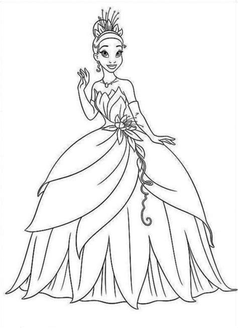 coloring pages princess tiana 12 coloring pages of princess tiana print color craft