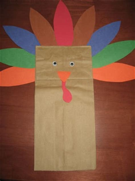 How To Make A Paper Bag Turkey - a paper bag turkey thriftyfun