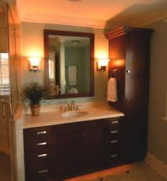 bathroom cabinetry ideas linen closet with vanity home