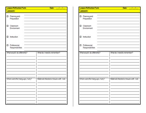 Danielson Lesson Plan Template Doc by Danielson Lesson Plan Template Doc Elipalteco