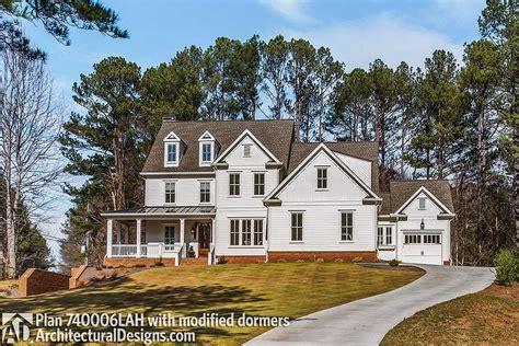 craftsman farmhouse house plan 740006lah architectural