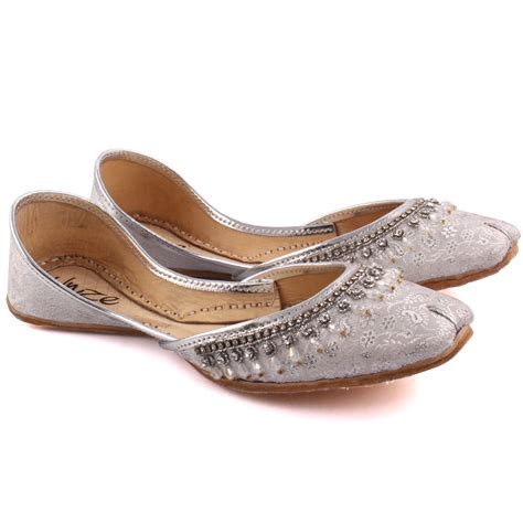 indian slippers unze jainism indian khussa slippers uk size 3 8