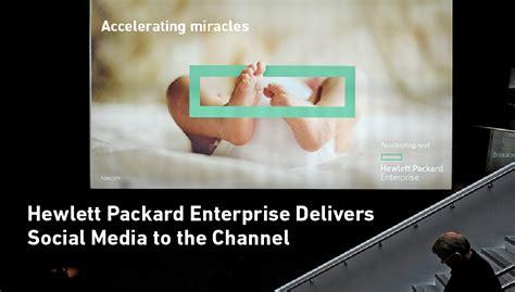 hewlett packard enterprise bringt social media zu seinen
