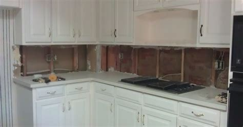 kitchen with white plastic sink and backsplash maintain the help cement board sheetrock more drywall for tiling