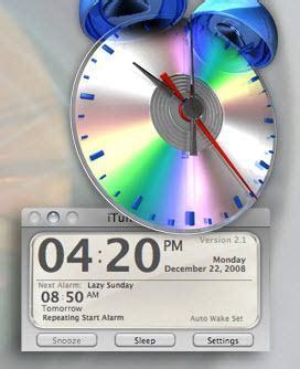 itunes alarm clock let itunes you up