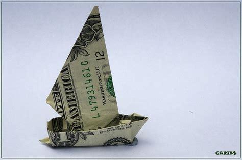 Money Origami Boat - dollar bill yacht origami dollar