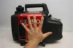 Honda Ex350 Generator Honda Ex350 Compact Portable Generator 2 Stroke Smooth