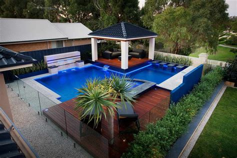 swimming pool landscape design home design innovative landscape designs with a swimming