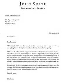 Cover Letter Templates Exles by Templates 187 Cover Letters