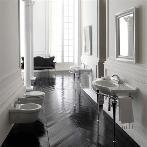 bathrooms with dark wood floors floor show classic bathroom decorating ideas