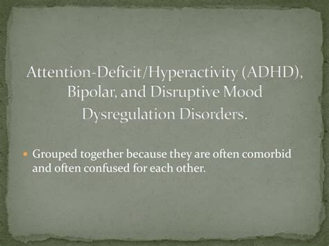 mood swings in children with adhd ppt children with special needs powerpoint presentation