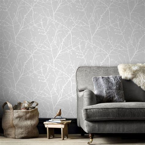 grey removable wallpaper graham brown gray innocence removable wallpaper 33 274