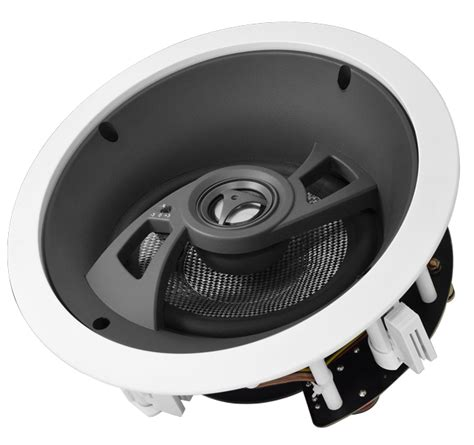 In Ceiling Angled Speakers by Mk670 Angled Kevlar Woofer 6 5 Quot Lcr Ceiling Speaker Dolby