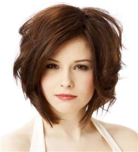 haircuts for round face thick wavy hair 50 best hairstyles for chubby faces