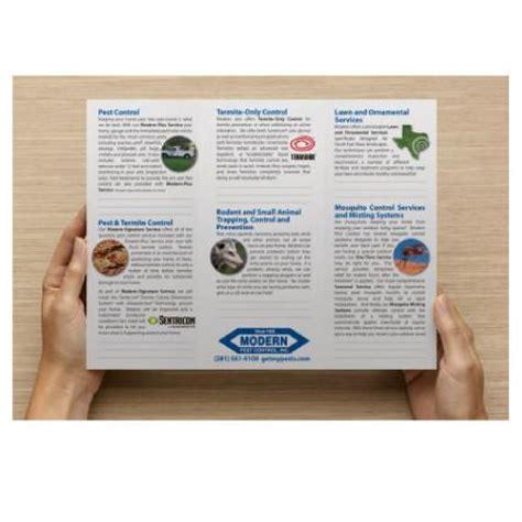 Pest Control Brochures Pest Brochure Template