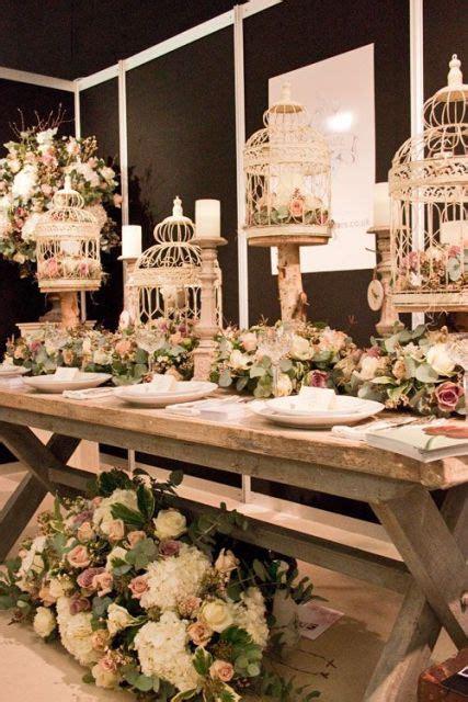 Maravillosa  Centros De Mesa Con Luz #1: Birdcage-table-centerpieces-for-vintage-weddings.jpg